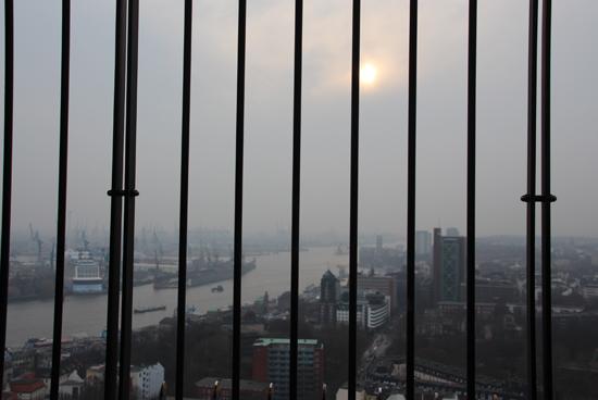 binedoro Blog, Hamburg, Städtetrip, Städtereise, Auszeit, Sightseeing, Hafen, Michel, von oben