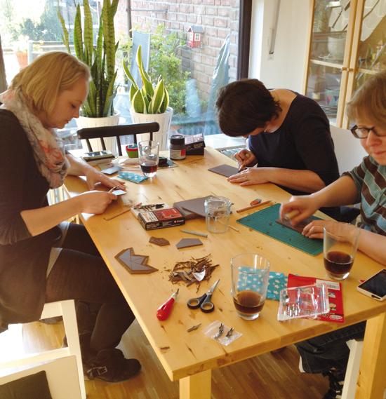 binedoro Blog, Linolschnitt, Linoldruck, DIY-Workshop, DIY