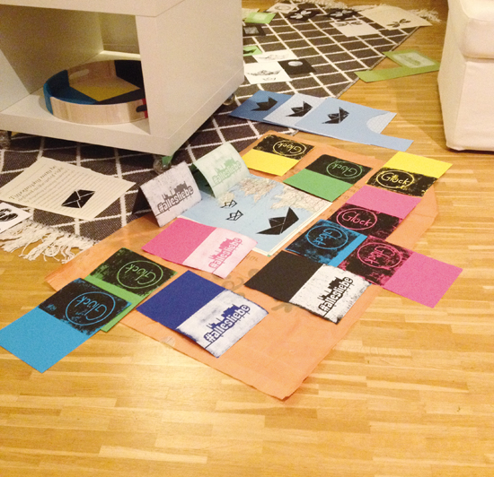 binedoro Blog, Linolschnitt, Linoldruck, #allesliebe, DIY-Workshop, DIY, Grußkarten