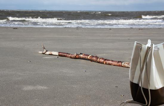 binedoro Blog, Meer geht immer, Norderney, Nordsee, Seesack, nähen, DIY-Kit, DaWanda