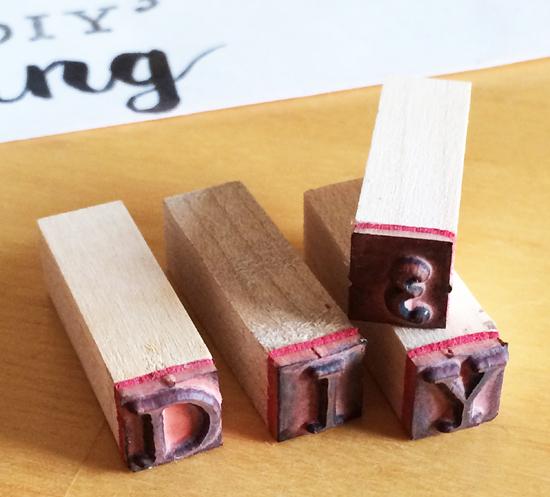 binedoro Blog, DIYhoch3, DIY, Stempel