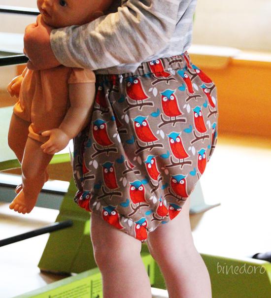 binedoro Blog, nähen, Probenähen, Kinderkleidung, Kleidung, Bloomer Greta, Hedi, Hose, Sommer