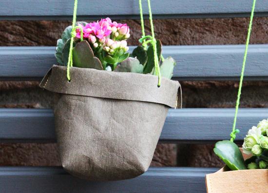 binedoro Blog, DIY, Dekoration, SnapPap, Holzgitter, Balkon, Utensilo, Blumen