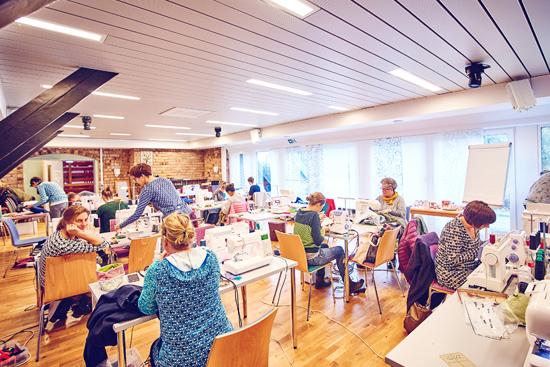 binedoro Blog, nähen, #naehcamp, Hedi Probenähteam, DJH Resort, Neuharlingersiel, Foto: Björn Reschabek