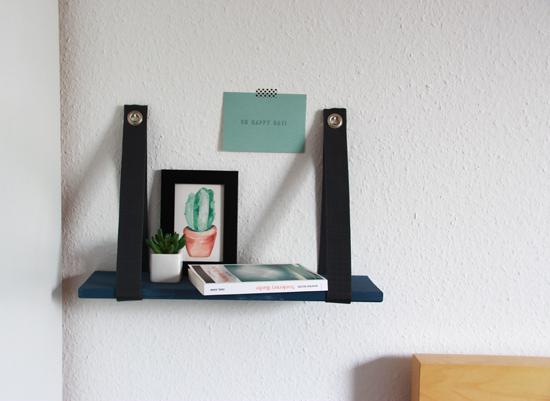 binedoro Blog, DIY, Regal, Holzregal, Tesa, Klebenagel