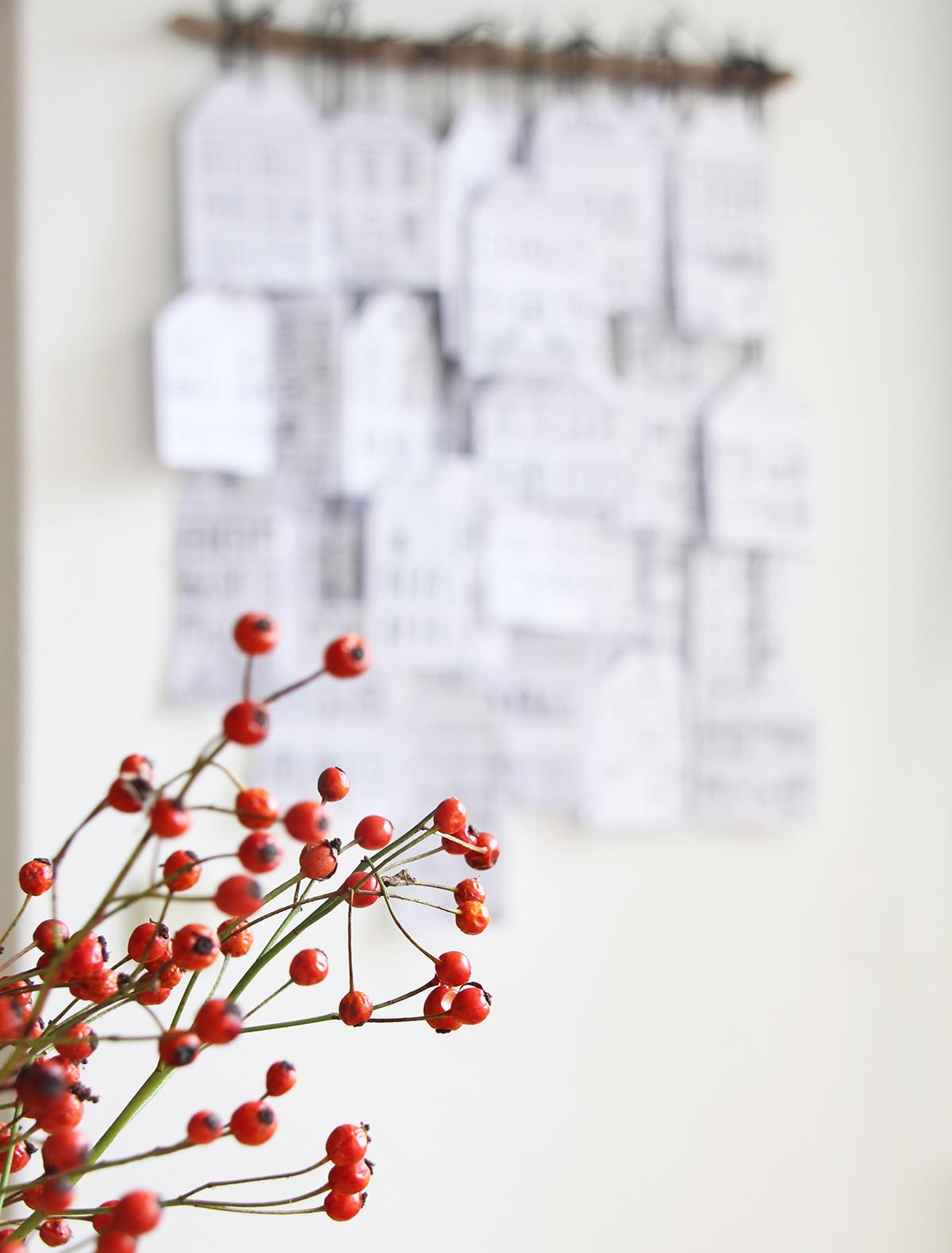 www.binedoro.de, Sabine Zimmermann, DIY, Tutorial, Adventskalender, Häuser, Stadt, schwarz weiß