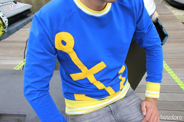 binedoro Blog, nähen, Pulli, Shirt, Herr Lene, Schnittmuster für Männer