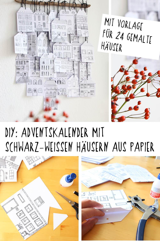 Adventskalender-Haeuser-Papier-DIY-binedoro