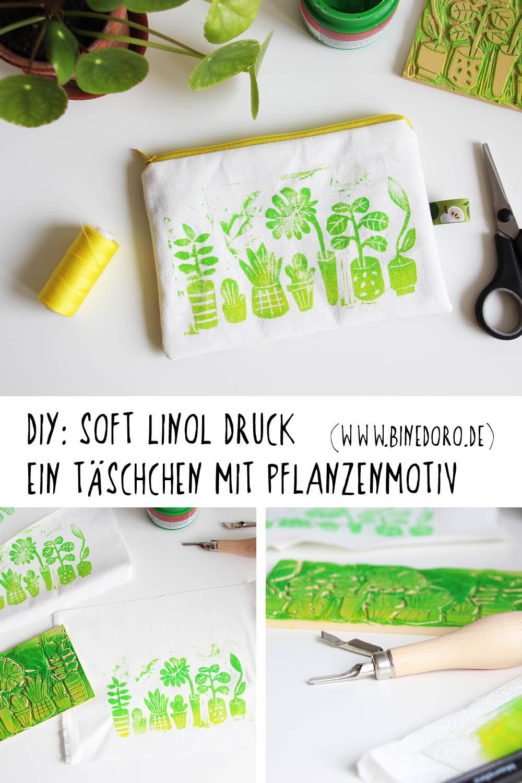 Soft-Linol-Druck-Pflanzenmotiv-binedoro