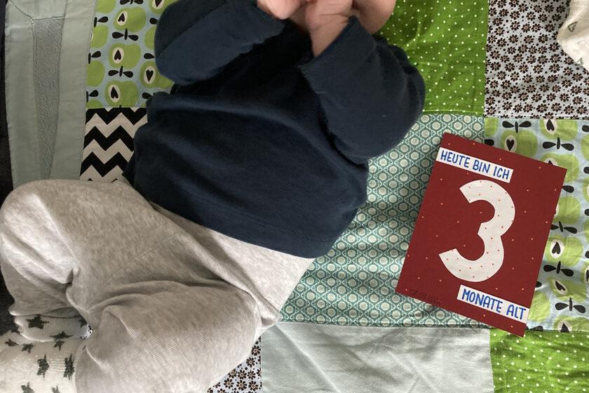Finn 3 Monate Meilenstein binedoro