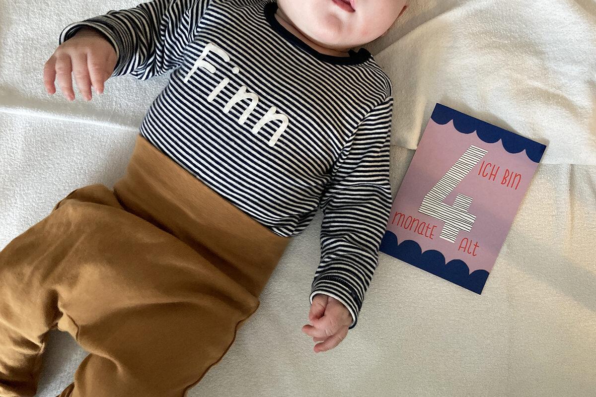 Finn 4 Monate Meilenstein binedoro