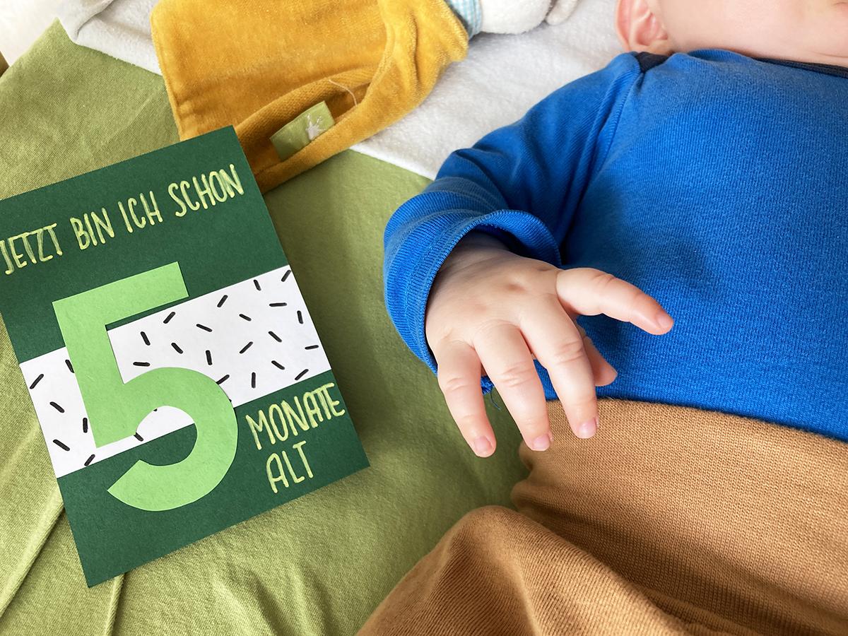 Finn, Meilenstein, 5 Monate, Baby, binedoro